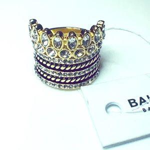 BaubleBar Charlotte Ring Stack size 6